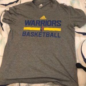 adidas Golden State Warriors Basketball tee